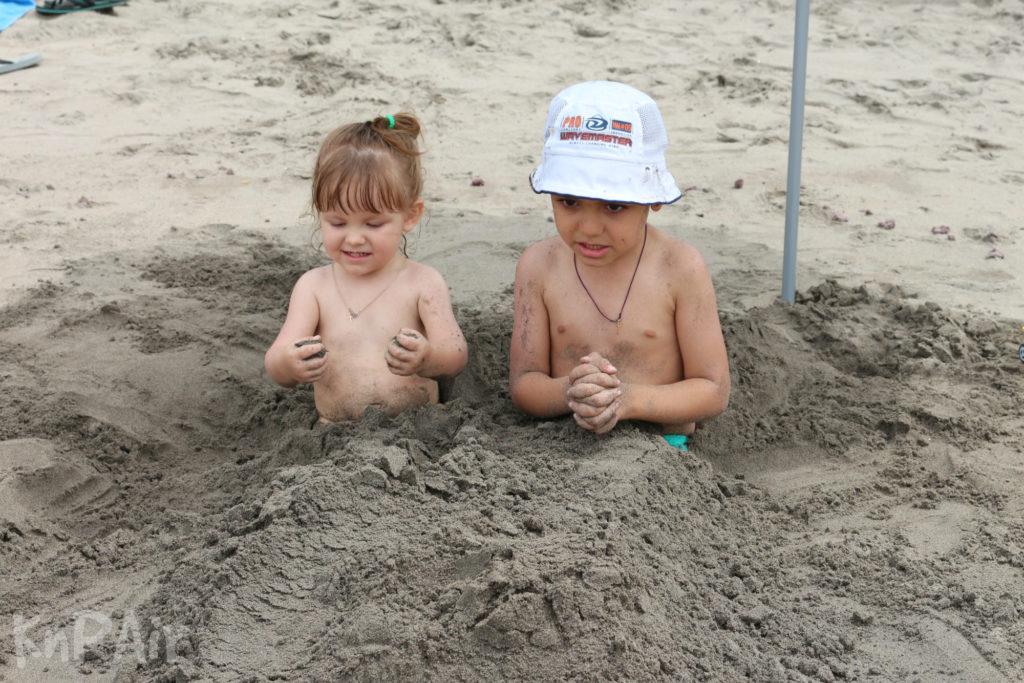 Песок на Эль Пуэртито Тенерифе