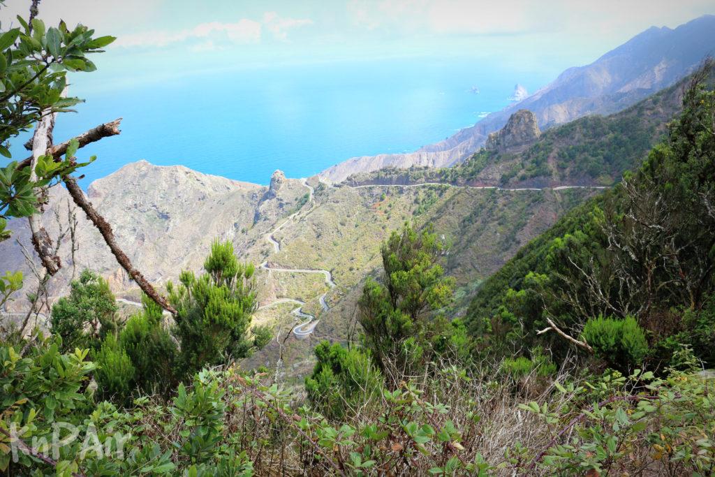 Road to El Pijaral Tenerife