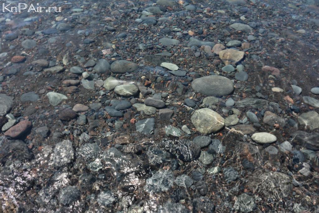 Дно на пляже Сан Хуан Тенерифе