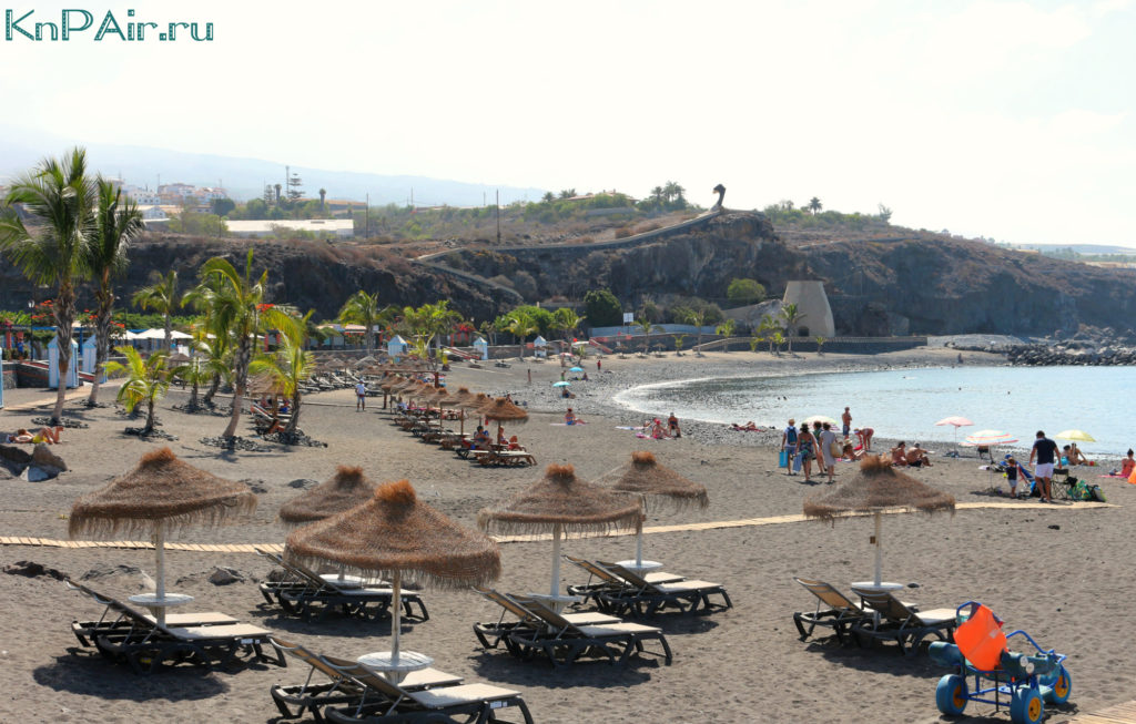 Пляж Сан Хуан Тенерифе