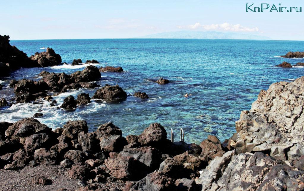 Природный бассейн в Сан Хуане Тенерифе