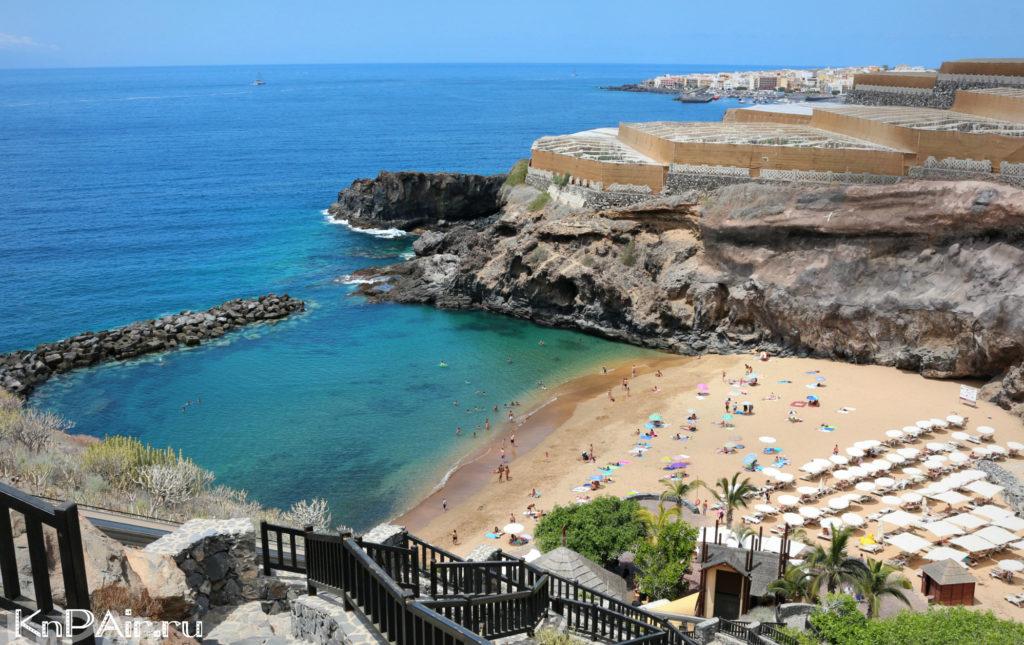 plyazhi s detmi na Tenerife
