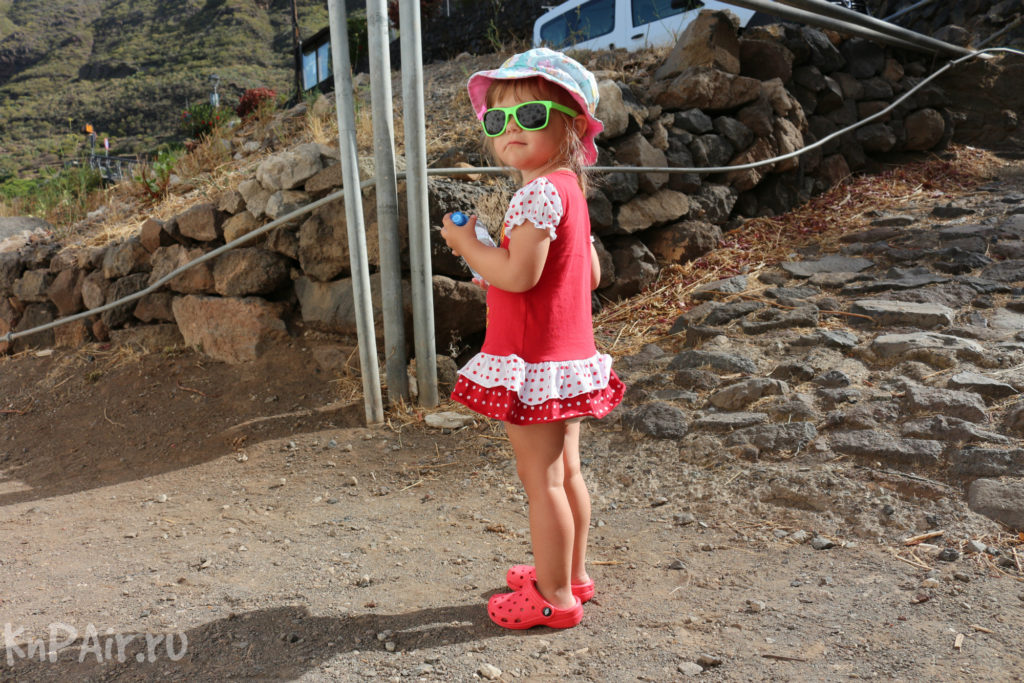 дочка в деревне Маска