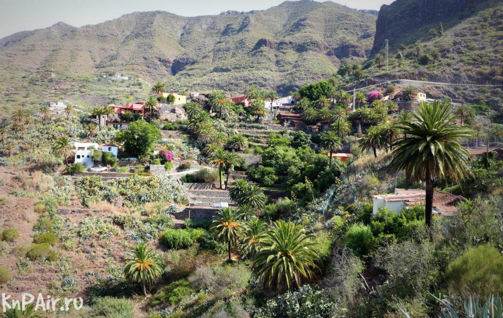 деревня Маска на Тенерифе