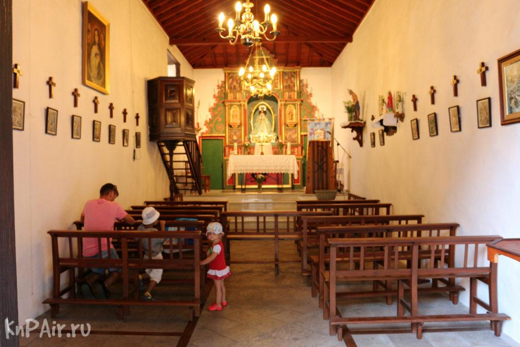 церковь в Маске Тенерифе