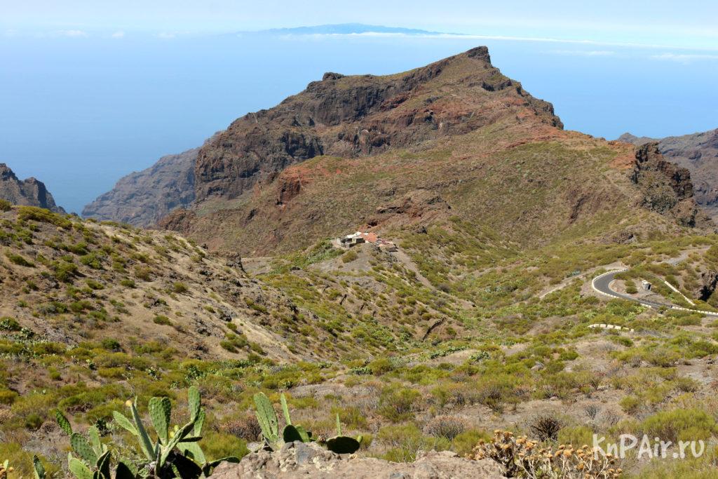 Вид со смотровой площадки Маска Тенерифе