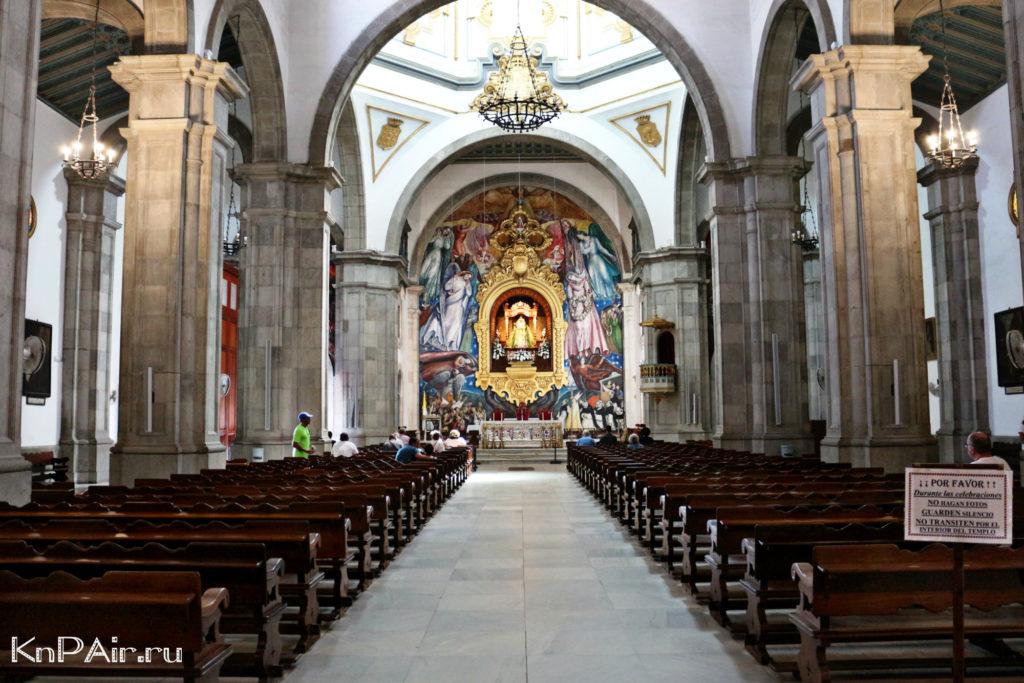 Basilika Kandelyarii vnutri