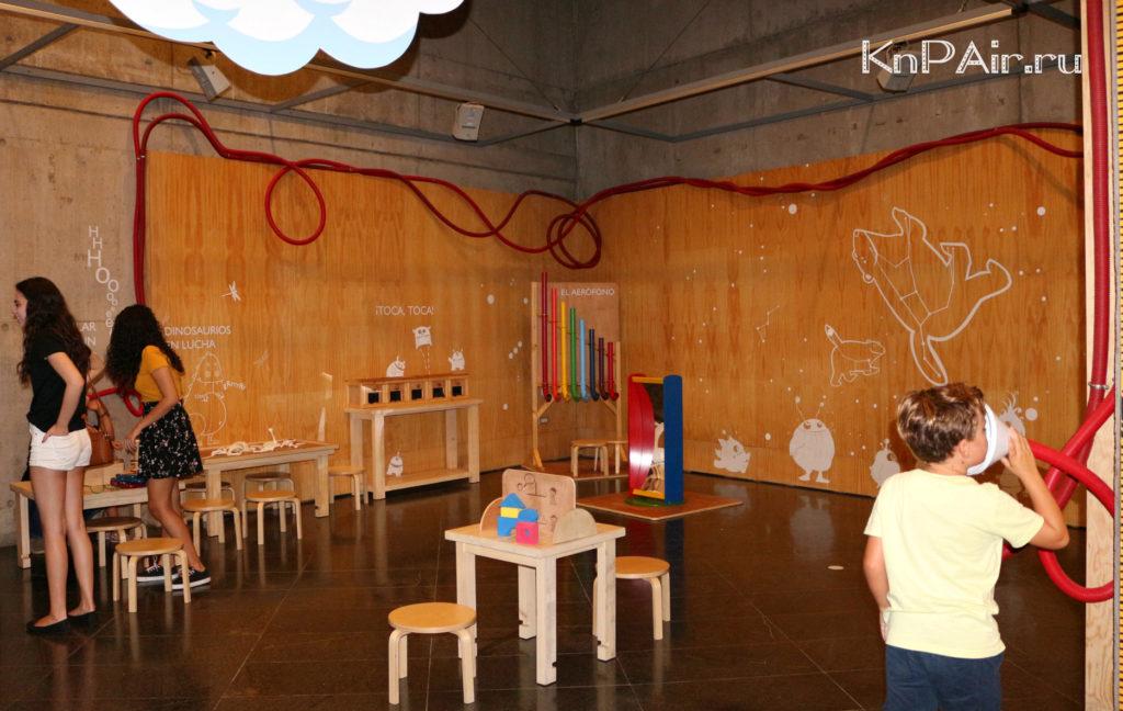 Detskaya komnata v muzee la laguny