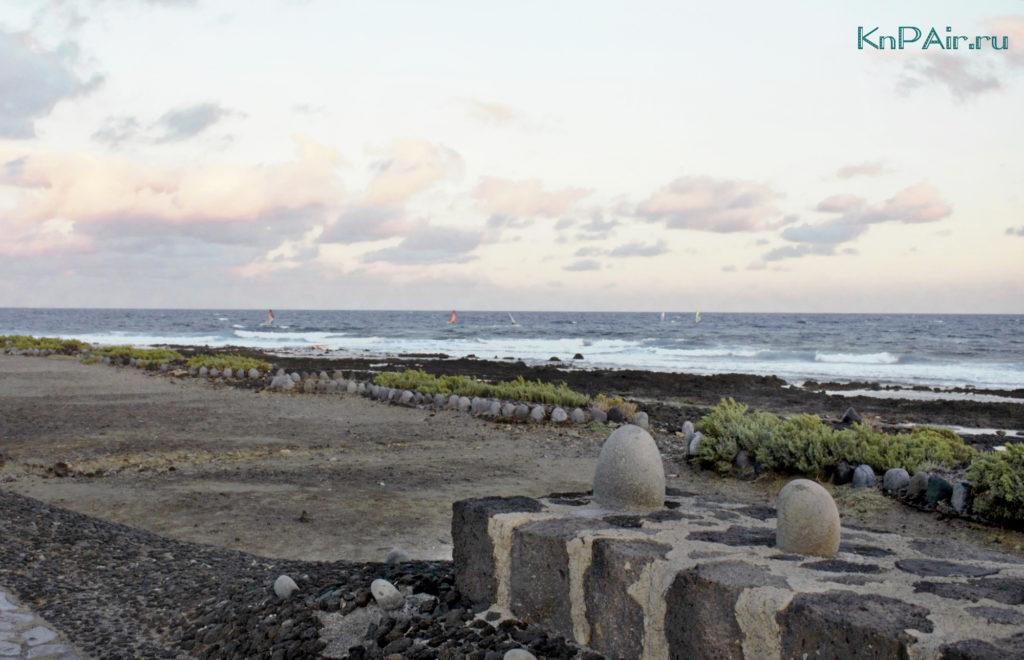 okean v El Medano serfing