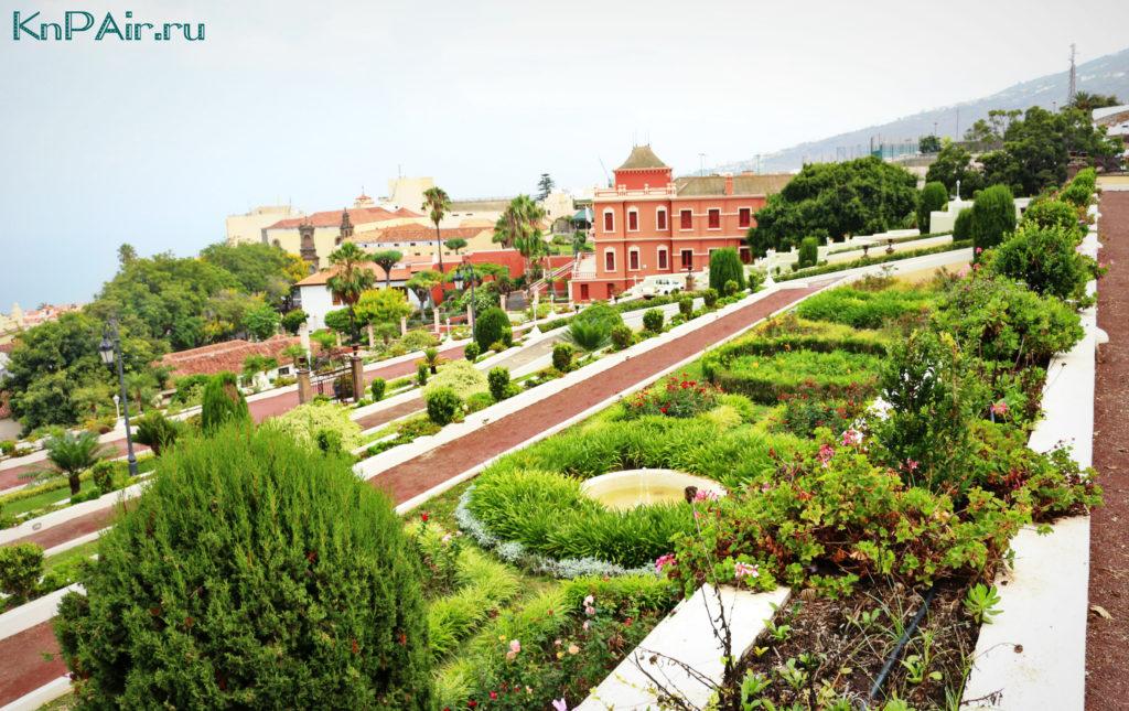 poezdka v La Orotavu Tenerife