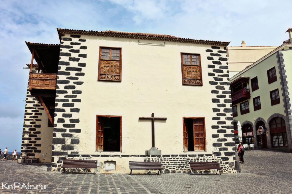 Vozle forta Santa Barbara Tenerife