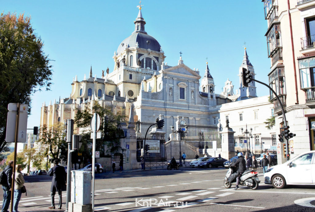 Almudena luchshee cho est v Madride