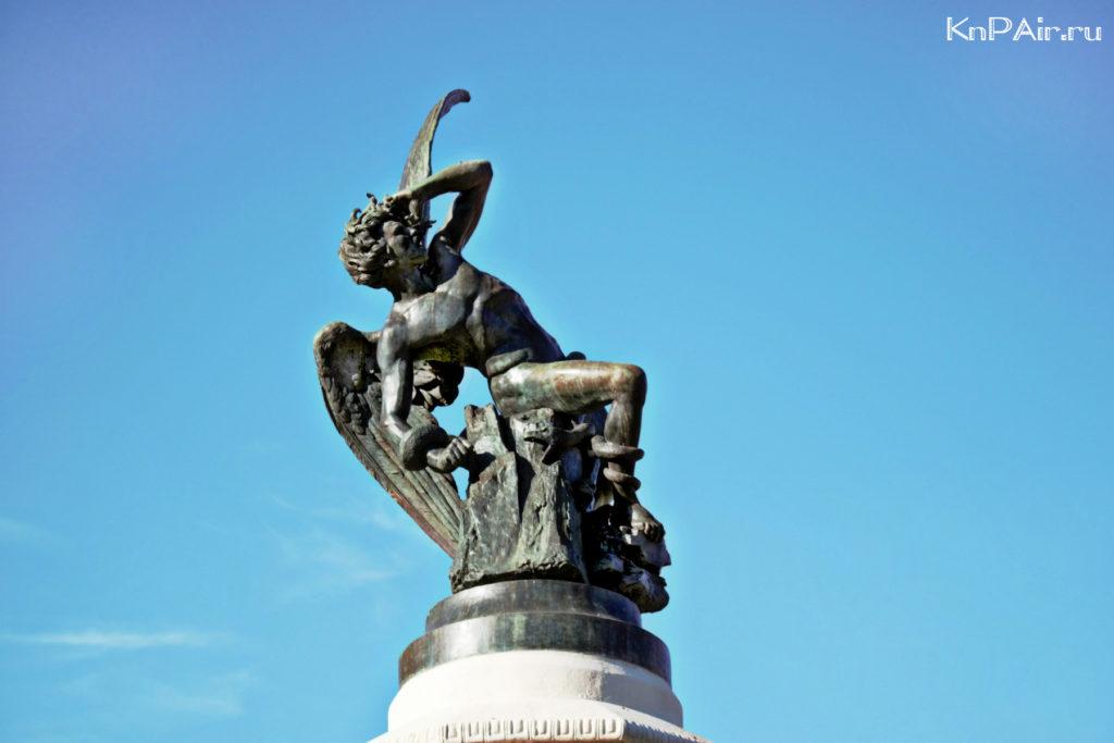 statuya-lyucifera-v-Madride