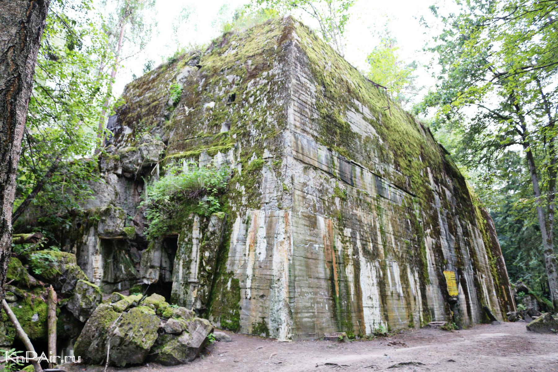 Bunker Adolfa v Wolfsshanze