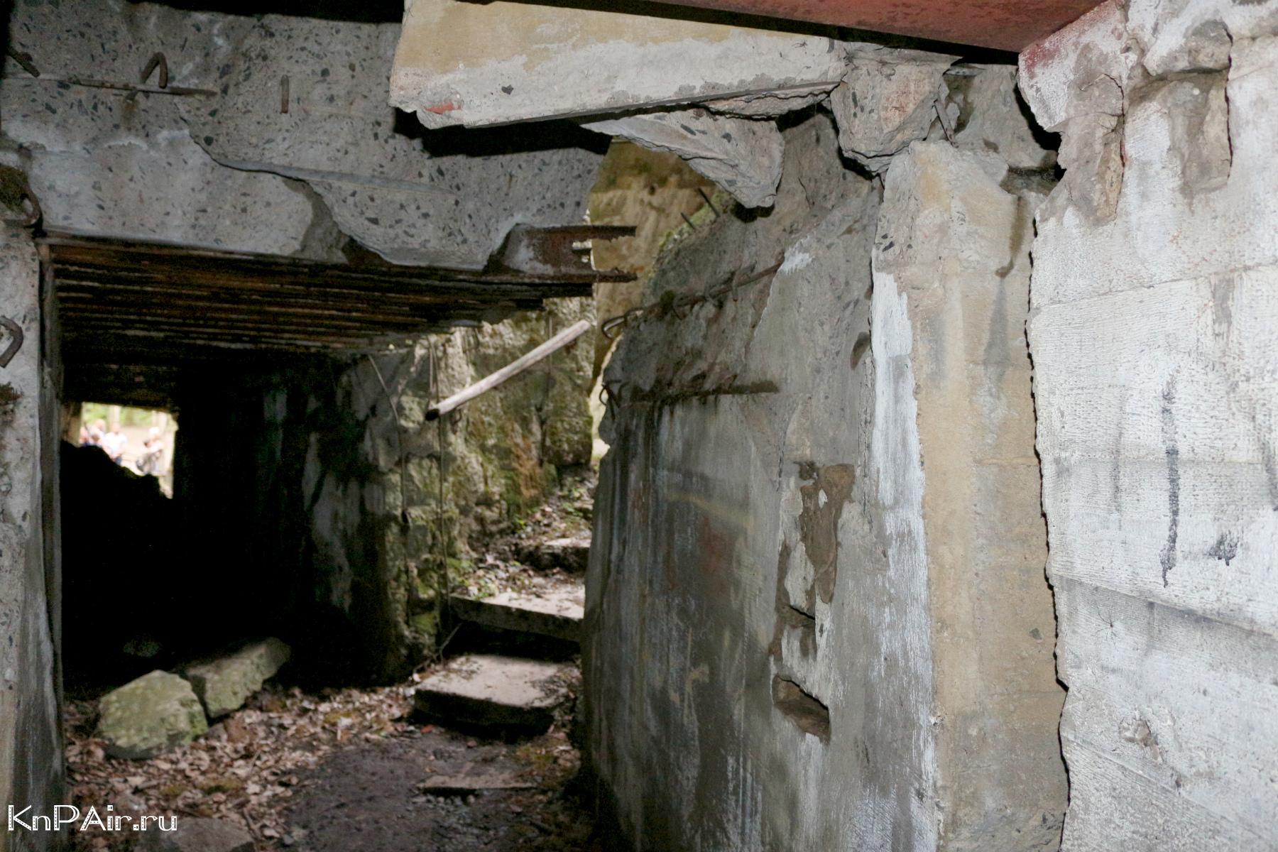 Bunkery Gitlera vnutri