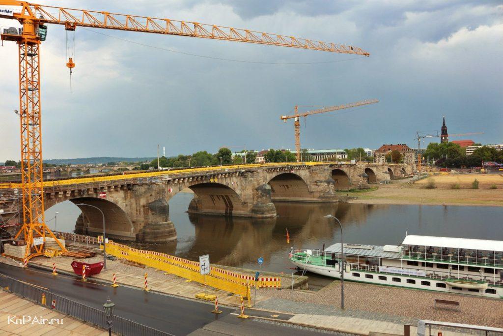 most-augusta-silnogo-drezden